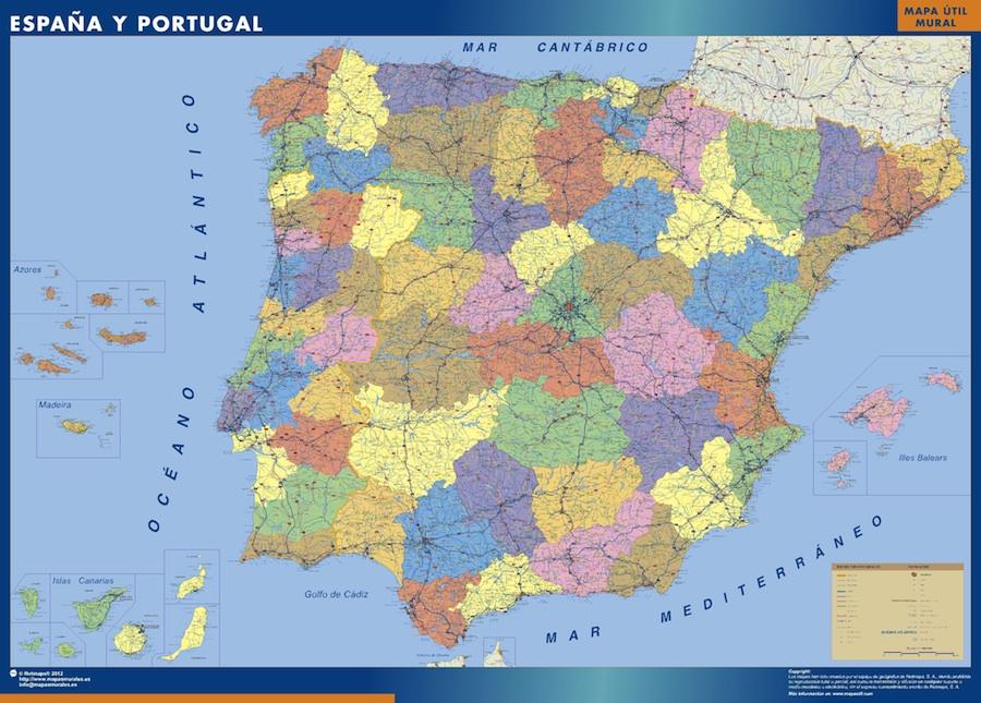 Carte Belgique Espagne.Cartes Espagne Cartes Belgique Netmaps Be
